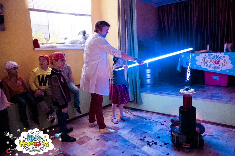 Тесла шоу для детей - почувствуй себя зевсом