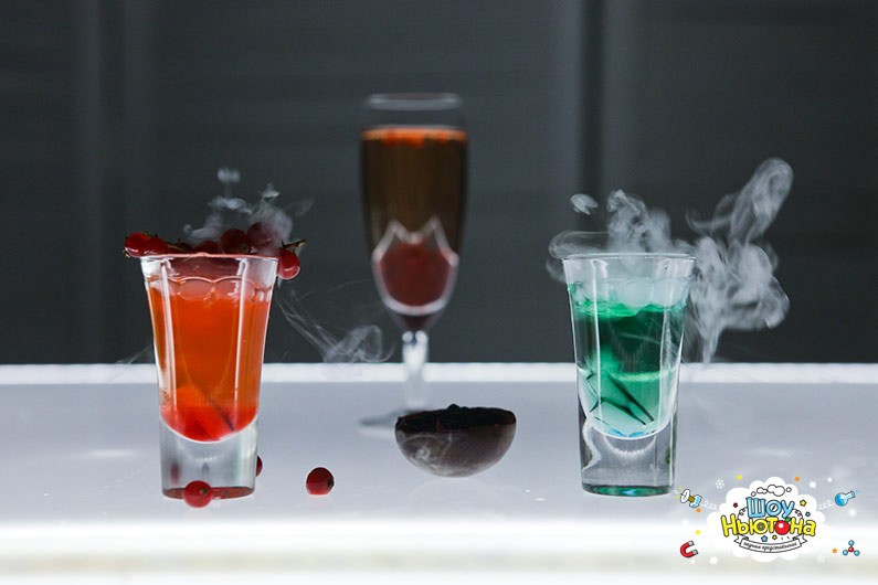 Молекулярные коктейли от нашего шеф повара