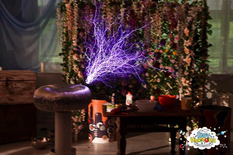 Тесла шоу на свадьбу