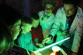 Научный шоу в стиле квеста для Детей
